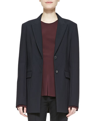 Two-Button Scuba Jacket
