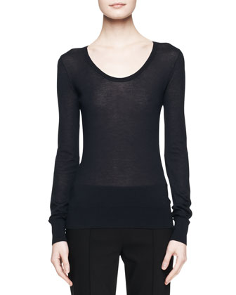 Topa Silk-Cashmere Top