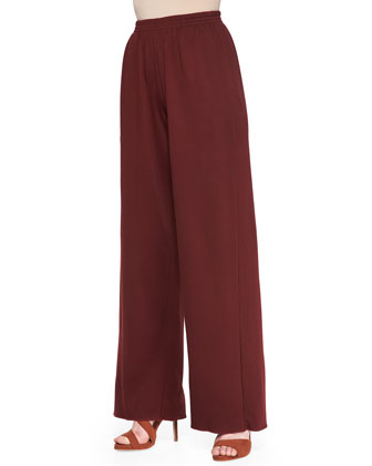 Pima Cotton Trousers, Cochineal