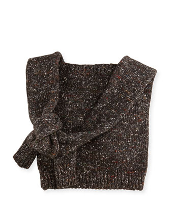 Chunky Knit Crossbody Bag