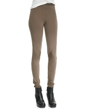 Lightweight Pull-On Jersey Leggings
