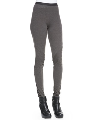 Heavy Jersey Pull-On Leggings