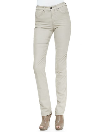 Brushed Cotton 5-Pocket Denim Jeans