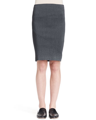 Basio Stretch Pencil Skirt
