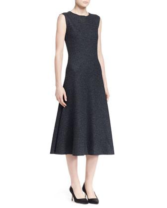 Nista Felted Wool Sleeveless Dress