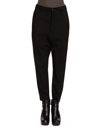 Loose-Fitting Straight-Leg Pants