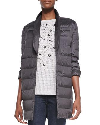 Reversible Monili Puffer Coat