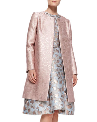 Sunset Cookie Cutter Jacquard Coat