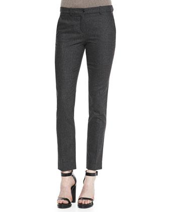 Samantha Skinny Flannel Pants
