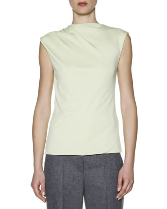 Cashmere High-Neck Camisole