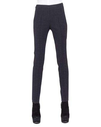 Slim Stretch Wool Pants