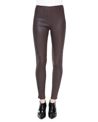 Abbey Stretch Leather Pants