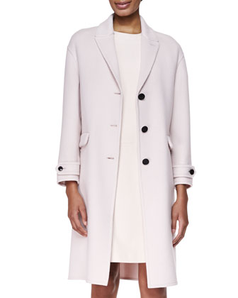 Cashmere Felt Double-Face Coat