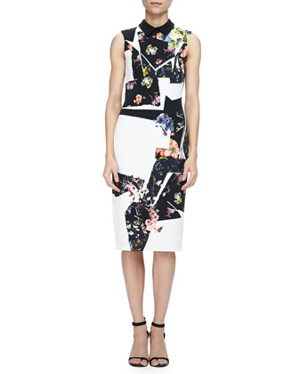 Brennon Printed Shift Dress