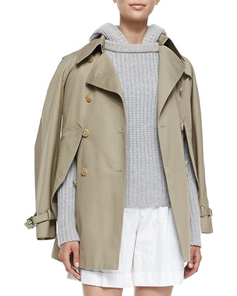 Convertible Cape/Trench Jacket