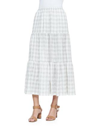 Checked Petticoat Skirt