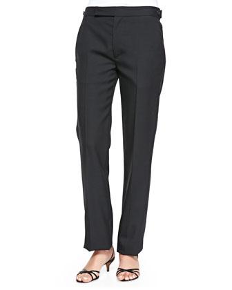 Classic Straight-Leg Pants