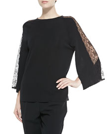 Tunic with Chantilly Lace