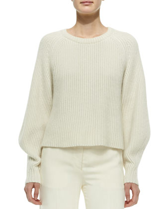 Cashmere/Silk Knit Sweater