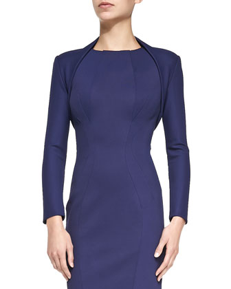 Stretch-Jersey Bolette, Navy