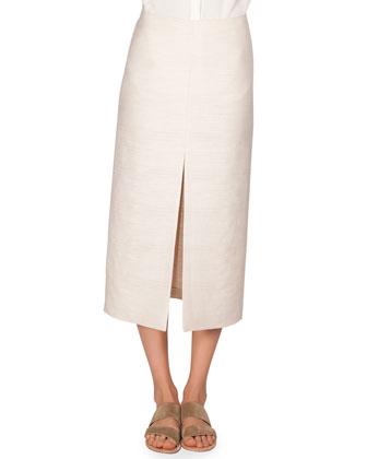 Textured Cotton Lakima Skirt