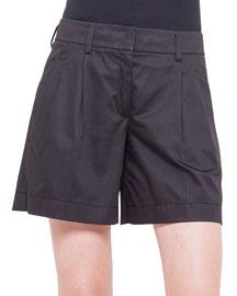 Miata Pleated Slash Pocket Shorts