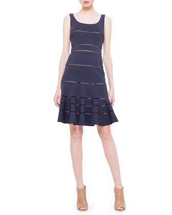 Hemstitch Jersey Dress