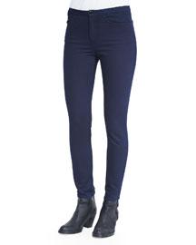 Slim-Waist Skinny Jeans, Indigo