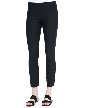 Soroc No-Waist Side-Zip Pants, Black