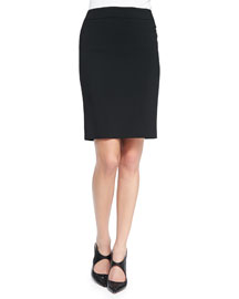 Featherweight Wool Pencil Skirt