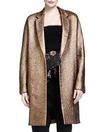 Burnished Metallic Easy Coat
