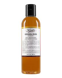 Original Musk Bath & Shower Liquid Body Cleanser, 8.4 oz.