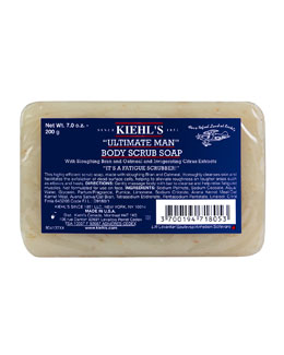 Kiehl's Since 1851 Ultimate Man Body Scrub Soap (NM Beauty Award Finalist)