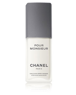 CHANEL POUR MONSIEUR AFTER SHAVE MOISTURIZER 2.5 oz.