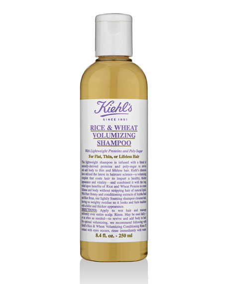 Rice and Wheat Volumizing Shampoo