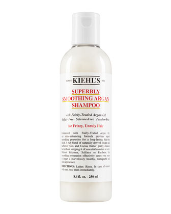 Superbly Smoothing Argan Shampoo, 8.0 oz.