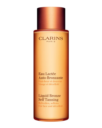 Liquid Bronze Self-Tanning for Face & Decollete