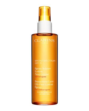 Sunscreen Spray Oil-Free Lotion Progressive Tanning SPF 15