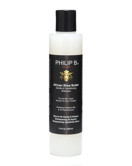 African Shea Butter Gentle & Conditioning Shampoo, 7.4 oz.