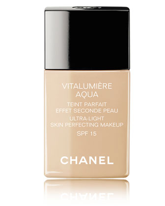 CHANEL CHANELVITALUMIÈRE AQUAUltra-Light Skin Perfecting Sunscreen Makeup Broad Spectrum ...