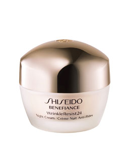 Shiseido WrinkleResist24 Night Cream, 50 mL