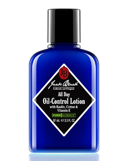 Jack Black All Day Oil-Control Lotion with Kaolin, Cotton and Vitamin E