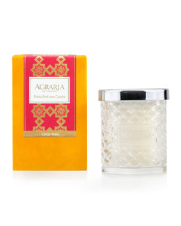 Agraria Cedar Rose Crystal Candle