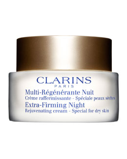 Clarins Extra-Firming Night Rejuvenating Cream - Dry Skin