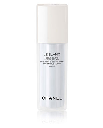 CHANEL LE BLANC BRIGHTENING CONCENTRATE CONTINUOUS ACTION TXC