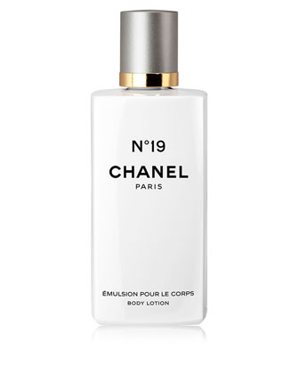CHANEL N19 BODY LOTION