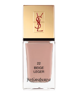 Yves Saint Laurent Beaute La Laque No22 Beige Leger