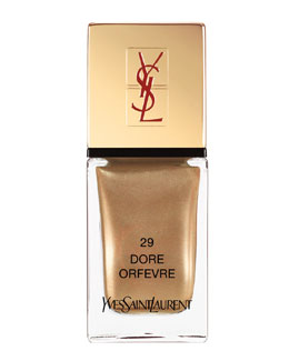 Yves Saint Laurent Beaute Exclusive La Laque No29 Dore Orfevre