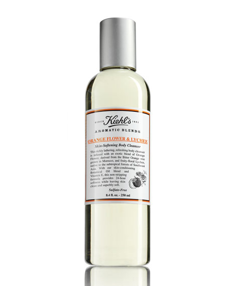 Aromatic Blends Orange Flower & Lychee Skin-Softening Body Cleanser, 8.4 fl. oz.