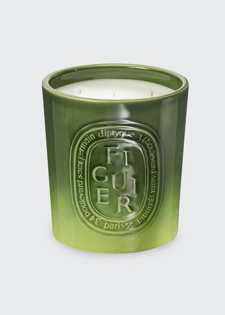 Diptyque Ceramic Figuier Scented Candle